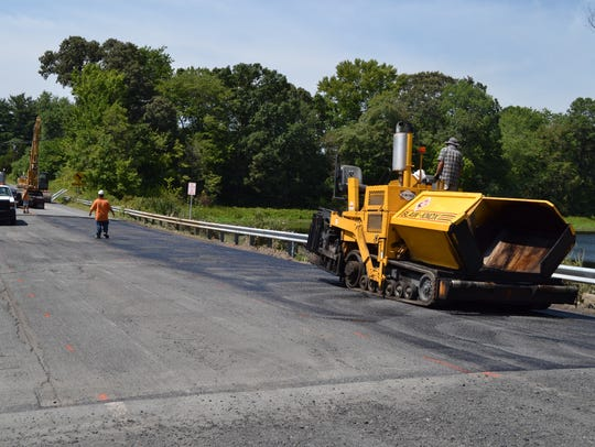 Paving work begins Thursday, Aug. 25, on a section