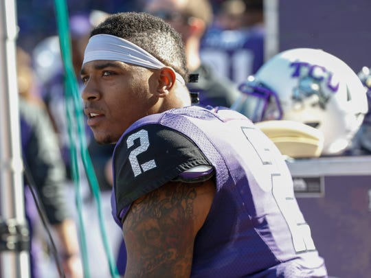 TCU quarterback Trevone Boykin (2) earned second-team