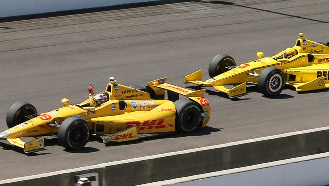 Ryan Hunter-Reay won the second-closest 500 in history last May, edging Helio Castroneves by 0.06 seconds.