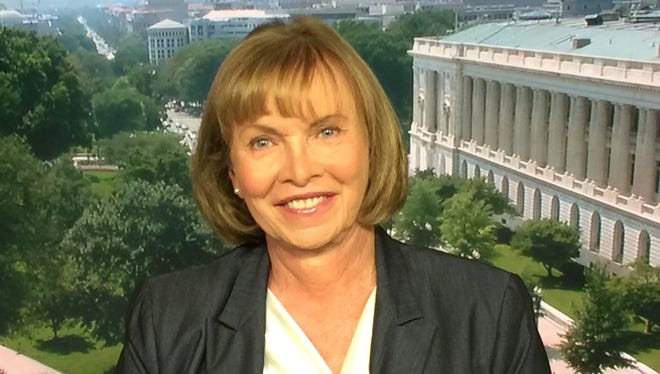 Retired Col. Sheri Swokowski, vice chairman for the Fair Wisconsin Education Fund, appears on the Cable News Network June 8, 2015.