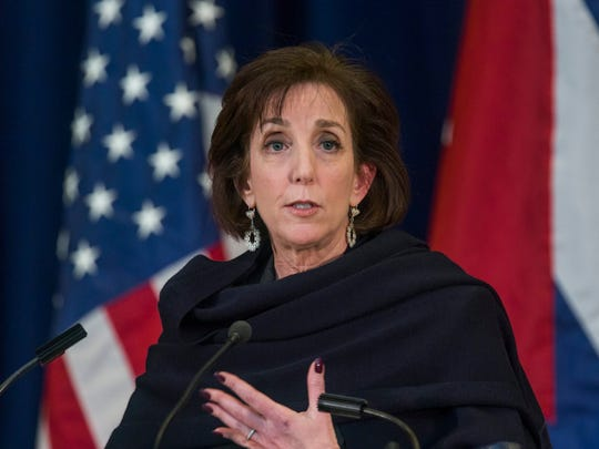Assistant Secretary of State Roberta Jacobson will