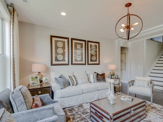 Many homes in Durham Farms include all the living space on one level.