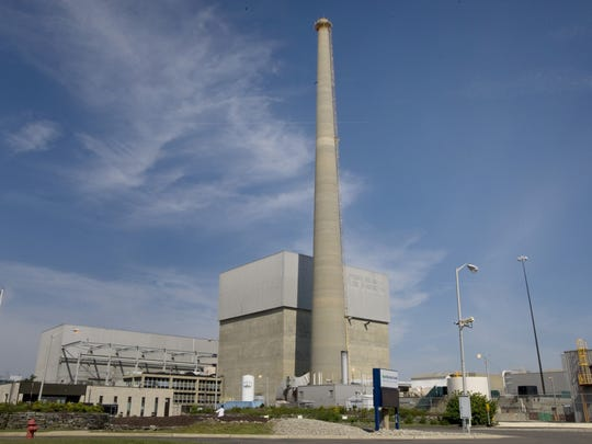 The Oyster Creek nuclear power plant in Lacey is seen in a 2010 file photo.