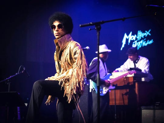 Prince performing at the 47th Montreux Jazz Festival,
