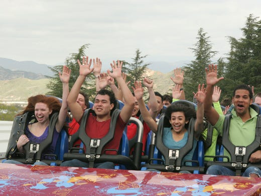 12 most thrilling roller coasters in the USA