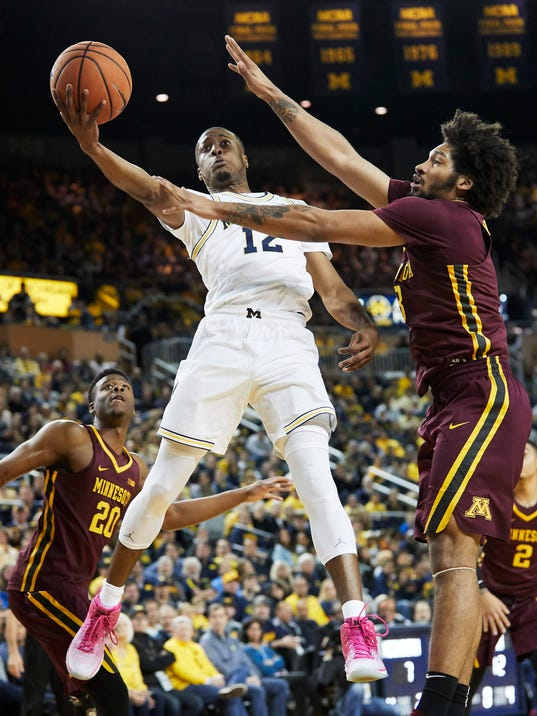 NCAA Basketball: Minnesota at Michigan