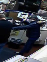 Mims armed robbery suspect is pictured.