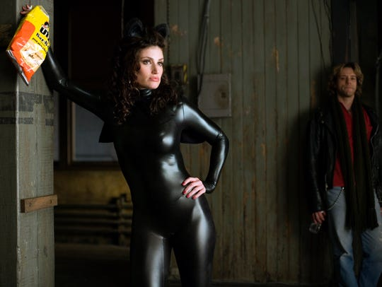 "Idina Menzel in the 2005 film version of ""Rent."""