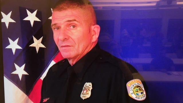 El Mirage police Officer Paul Lazinsky
