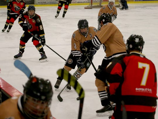 Games in the Draft Tournament continue Sunday at the Bremerton Ice Arena.