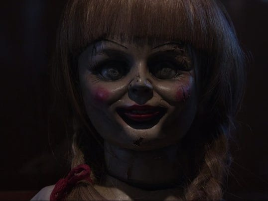 Annabelle is about a scary doll that comes to life photo