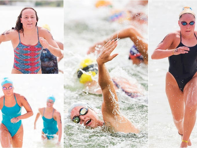 Swimmers from throughout Florida competed on Sunday
