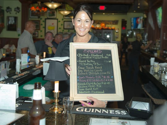 Head bartender Vicki Revelle has been with McCarthy's since it opened.