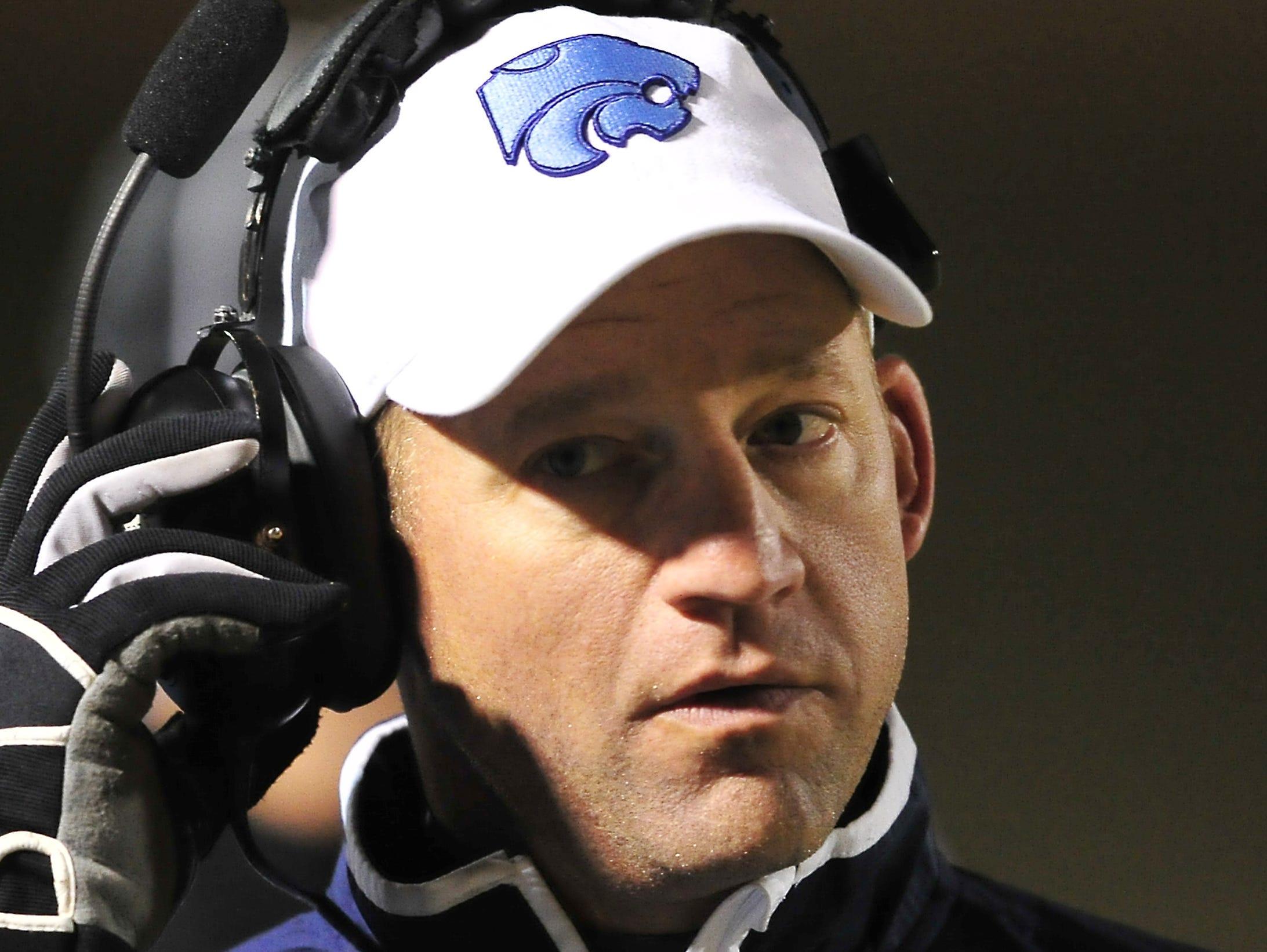 Centennial coach Brian Rector