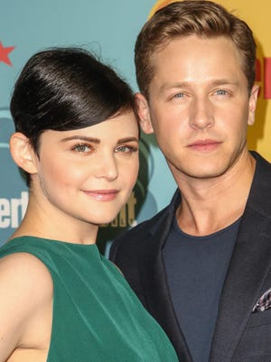 'Once Upon A Time' co-stars Ginnifer Goodwin and Josh Dallas married on April 12, 2014 in Los Angeles. The couple announced their engagement in October 2013. In November 2013, they announced they were expecting their first child.