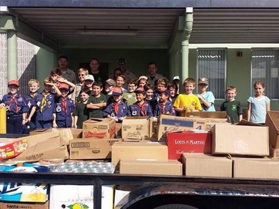 Pack 822, from Palm City, is one of 16 Scouting units