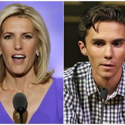David Hogg calls for another boycott of Fox News' Laura Ingraham