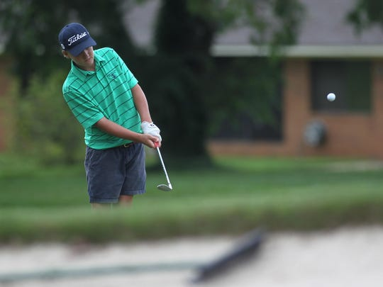 Parker Bell, 13, plays a round at Killearn Country Club. Bell has won five Southeastern Junior Golf Tour tournaments this year, including one recently in which he shot a 9-under par 63.