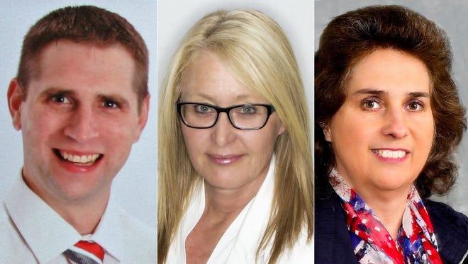 Nick Gebert, Jeannette Merten and Natalie Strohmeyer