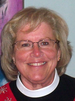 Picture of Episcopal Bishop Suffragan Heather Elizabeth Cook from a May 2, 2014 press release.