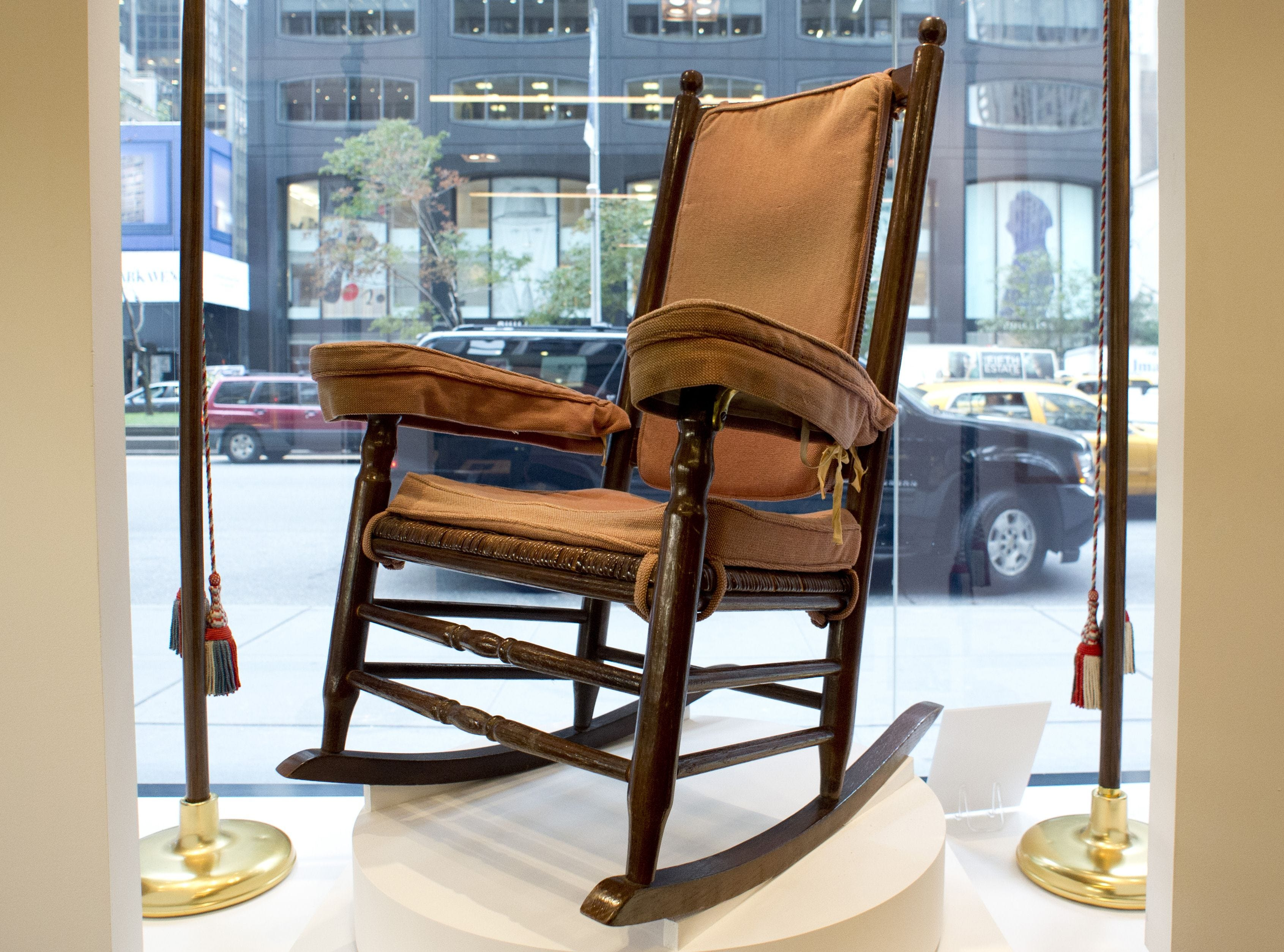 & JFK rocking chair other items up for auction