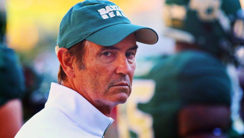 Baylor fired coach Art Briles on Thursday.