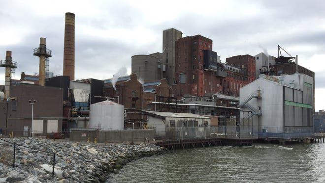 American Sugar Refining's complex on the Yonkers waterfront.