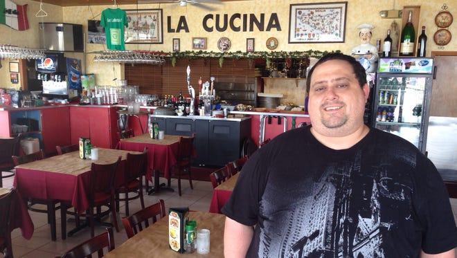 Carmelo LaMotta of LaMotta's Italian Restaurant & Pizzeria which opened in 1979 in Iona.