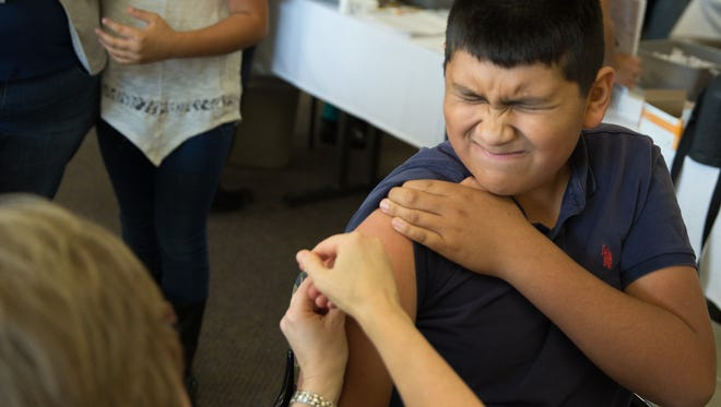 Flu vaccines are available statewide. New Mexico health officials encourage New Mexicans to get a flu shot early.