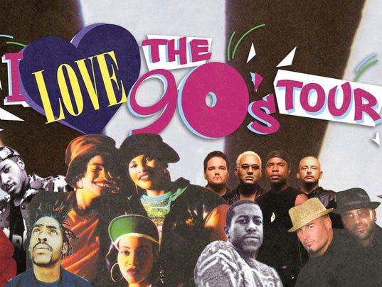 I Love the 90s Tour photo