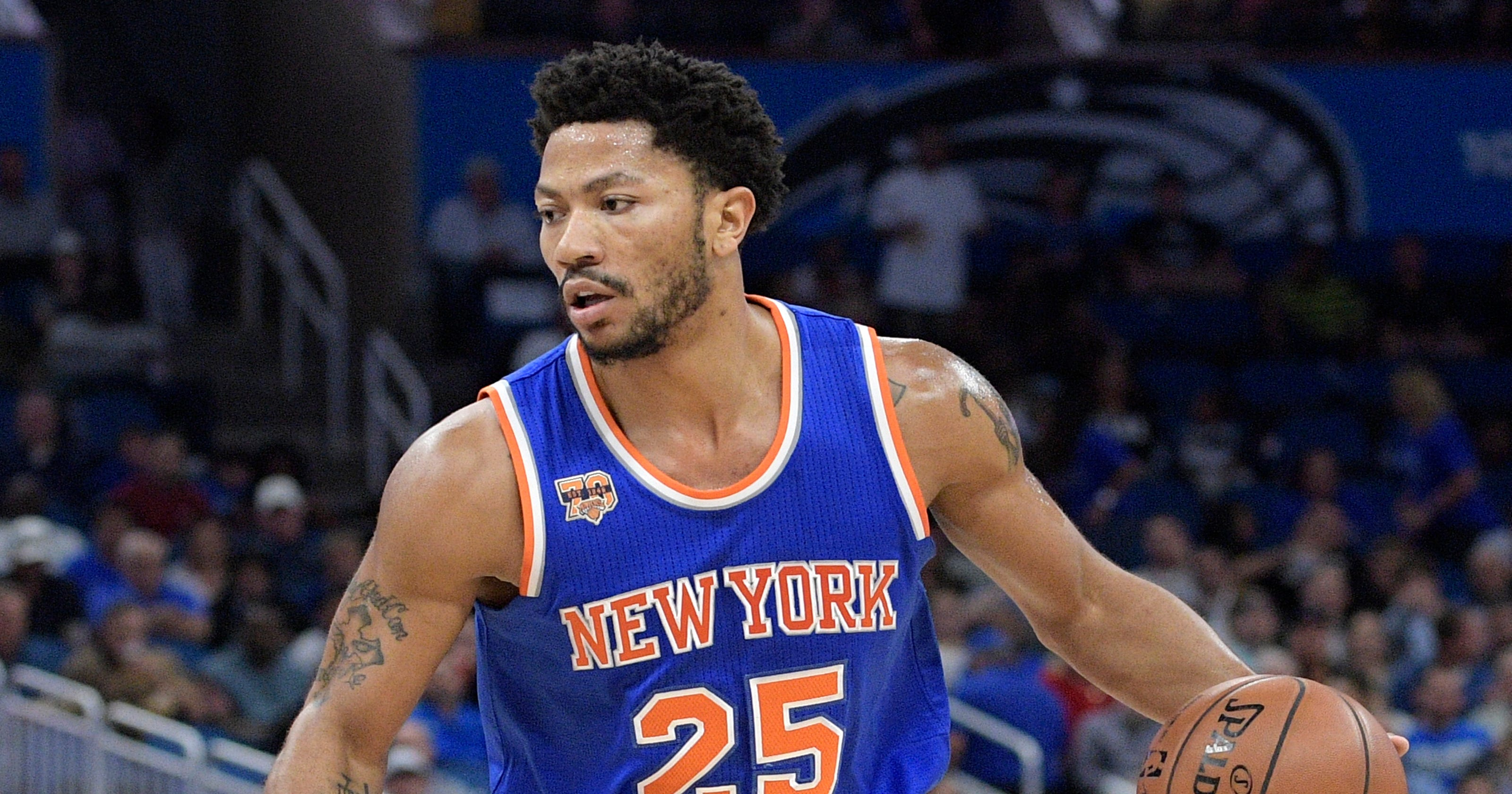 Knicks  Derrick Rose auditioning for next role abbc03a7a