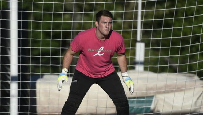 Pascack Valley goalie Josh Ulin is a top candidate for Player of the Year in 2017.