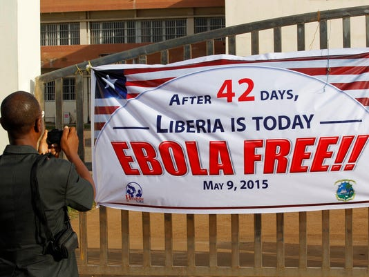 WHO declares Liberia Ebola-free
