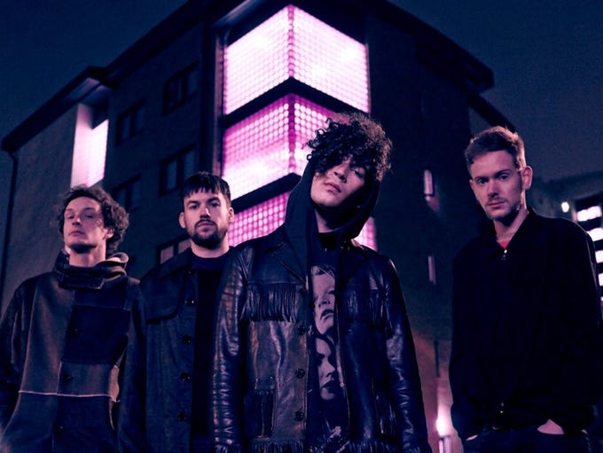 The British pop-rock band The 1975 is set to perform