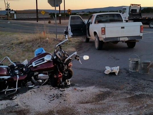 fatal collision scene seligman