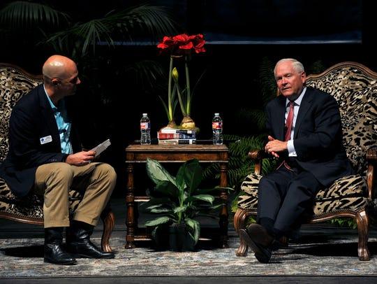 Global Samaritan Resources Executive Director Bob Starr