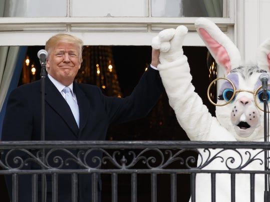 Donald Trump,Easter Bunny