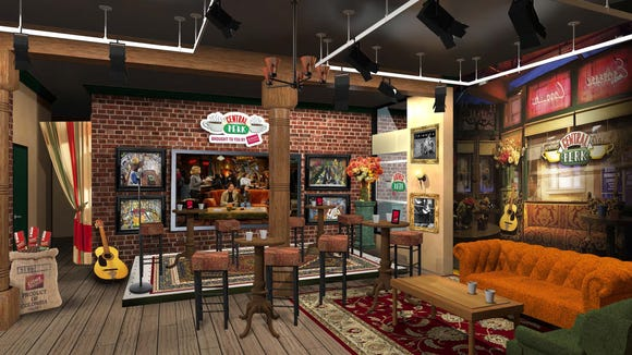 """""""They were on a break!'' Friends is back with a pop-up coffeeshop in NYC."""