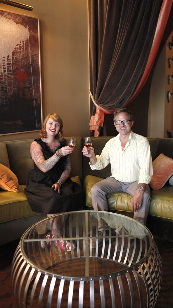 Mixologist Molly Wellmann and Jeff McClorey, of Bromwell's collaborated to form The Hearth Room, a rentable event space serving Wellmann's signature craft cocktails. The Hearth Room is located at 125 W. Fourth Street, downtown Cincinnati.