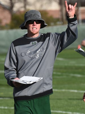 Former Georgia quarterback Joe Cox, who spent last season as a graduate assistant, will serve as the Rams' tight ends coach in 2016.