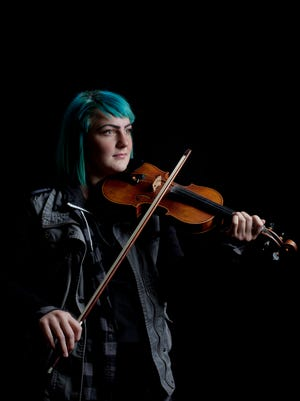Natalie Mainguy, 19, will be opening for The Moxie Strings on Saturday at the SC4 Fine Arts Theater. Mainguy, who has been playing the violin since she was 4 1/2 years old, will perform a mix of jazz and Celtic pieces.