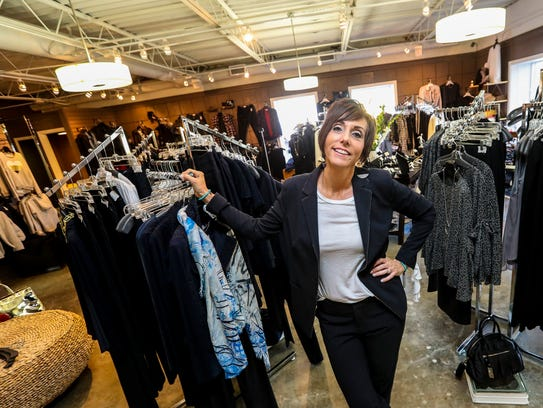 It's the 35th anniversary of Jennifer's Boutique. Owner