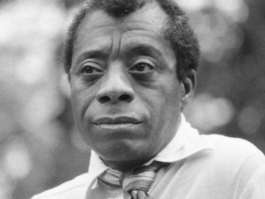 "James Baldwin (1924-1987), author of many books including ""The Fire Next Time"" (1963)."