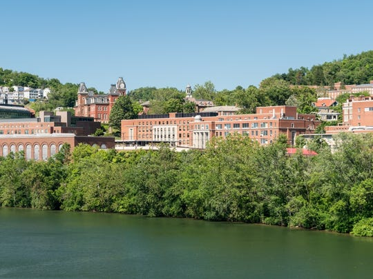 20. Morgantown, WV     • Per capita income growth in 2016:  -2.3%     • 5 yr. per capita income growth:  -0.7%     • Per capita income:  $38,691     • May 2018 unemployment:  4.4%     Morgantown is one of two West Virginia metro areas with a near nation-leading decline in income per capita in 2016. Per capita income fell in the Morgantown metro area by 2.3% in 2016 even as per capita income climbed by 0.4% nationwide the same year. While there has been no consistent pattern of growth or decline year by year in the metro area, over the last half decade, per capita income in the metro area declined by 0.7%. Many Morgantown residents are feeling the pinch. The SNAP -- formerly known as Food Stamp -- recipiency rate in the area climbed from 8.4% in 2011 to 13.6% in 2016. Over the same period, the poverty rate climbed from 18.1% to 20.1%.     ALSO READ: States With the Longest and Shortest Life Expectancy