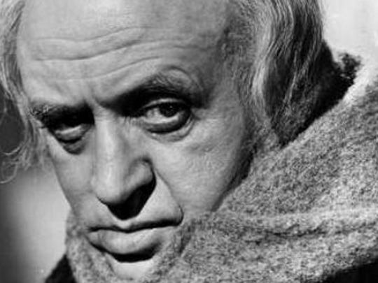"Alastair Sim embodies Dickens' Scrooge in the 1951 version of ""A Christmas Carol."""