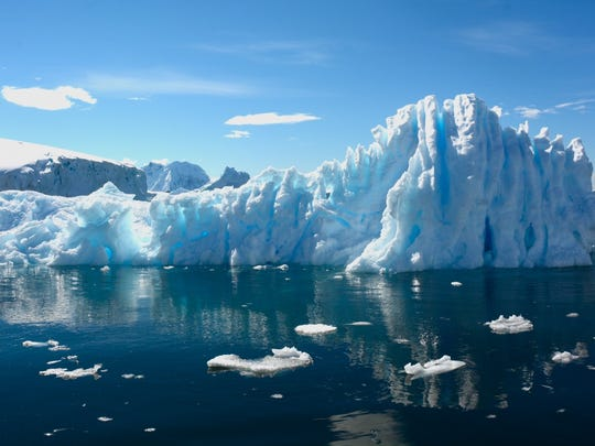 A scientific studyreleased Wednesday suggests that melting ice from the world's coldest regions such as Antarctica (above) and Greenland could bring moreextreme weather and unpredictable temperature changes around the world.