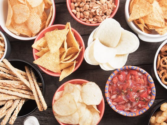 The food you put in your body has a major effect over your mood. Snack wisely.