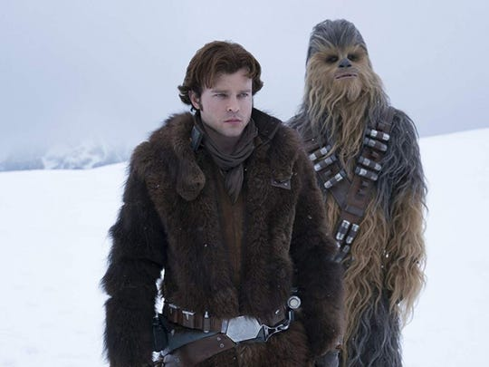 """Solo: A Star Wars Story"" is up for best visual effects - and it lends itself to creative celebrating."