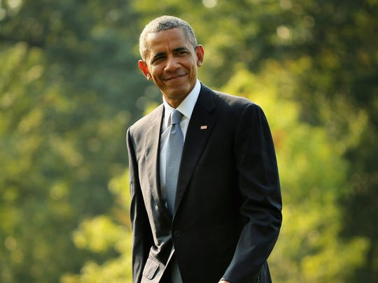 Roads, schools and other landmarks are increasingly being named for former President Barack Obama.