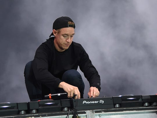 Diplo performs Weekend 2 at Day Club Palm Springs.